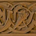 Islamic-style woodcarving based on a 13th-century design.