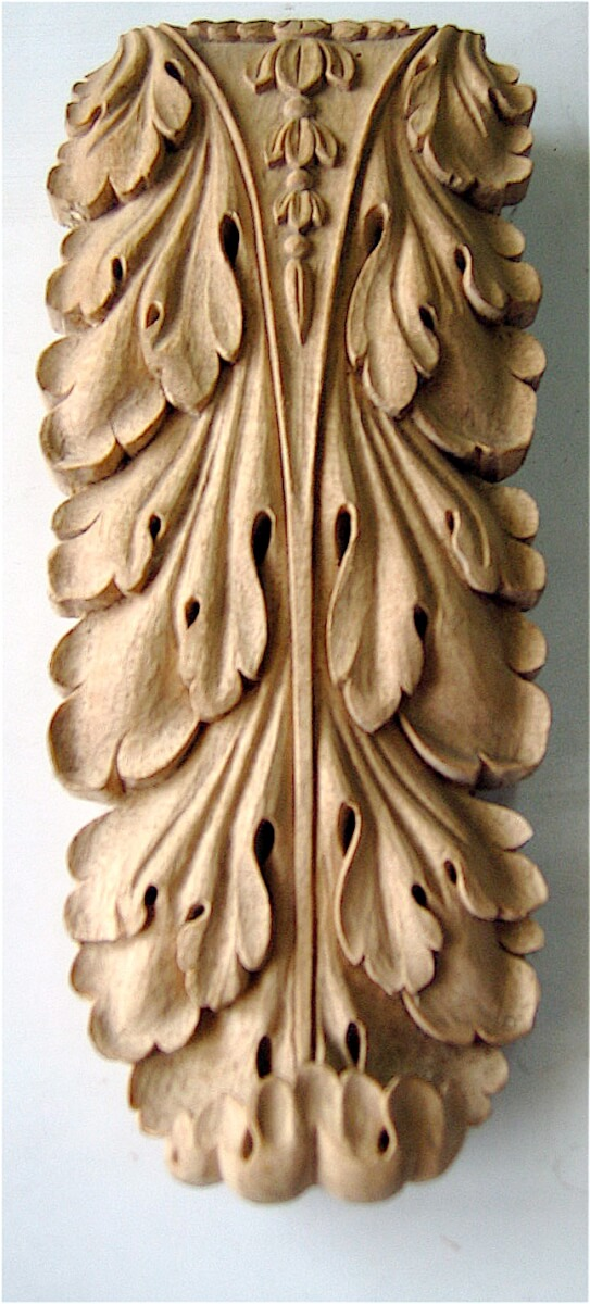 French-style acanthus leaf woodcarving by Agrell Architectural Carving