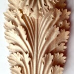 Roman-style acanthus leaf woodcarving by Agrell Architectural Carving