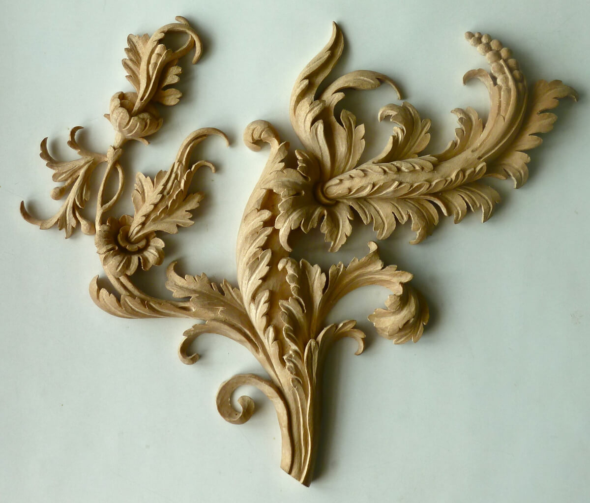 Acanthus leaf scroll woodcarving by Agrell Architectural Carving