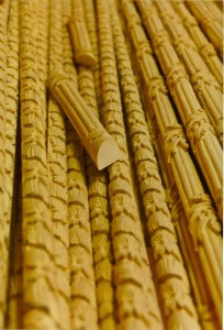 Hand-carved wood mouldings by Agrell Architectural Carving