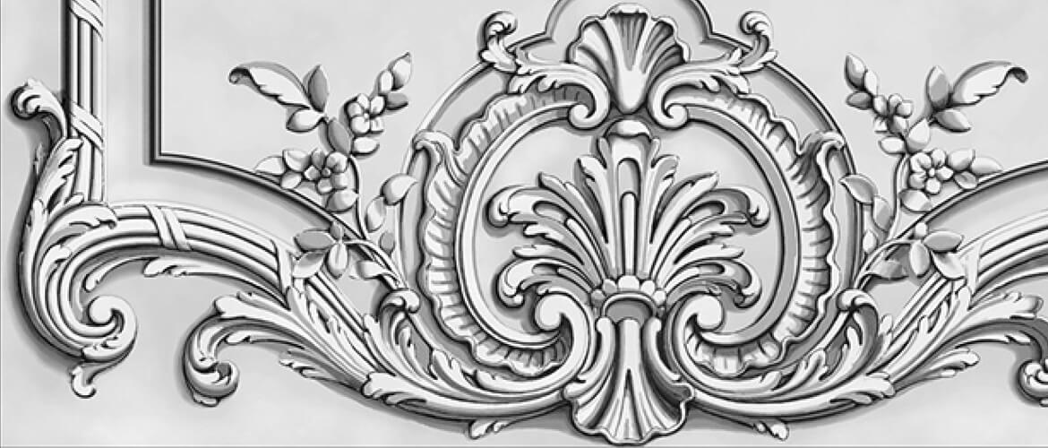 French-style panel designed by Adam Thorpe