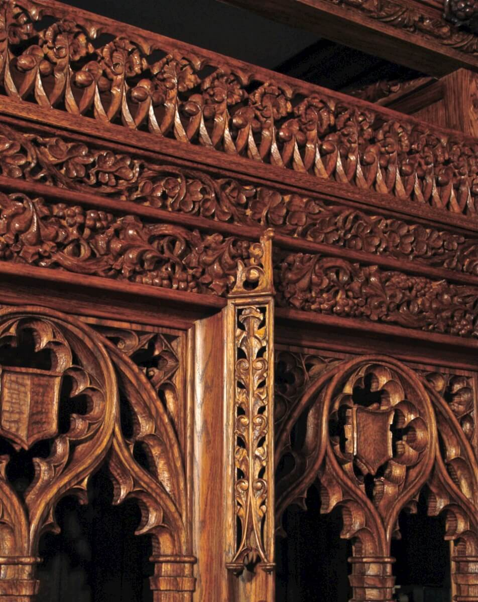 Agrell architectural carving restoration of the