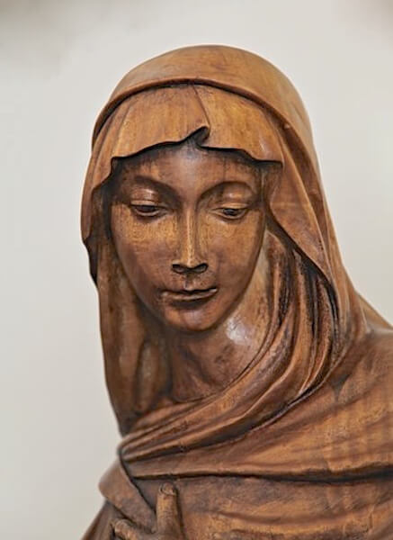 Hand-carved by Agrell Architectural Carving for a church in Minnesota.