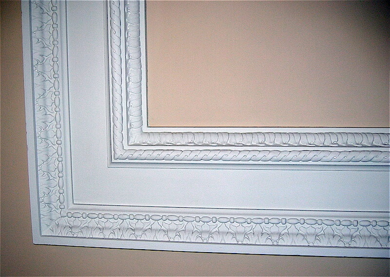 Wood-carved wall panel mouldings for Fulham Palace by Agrell Architectural Carving.