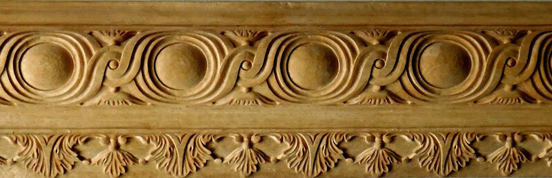 A pair of French-style mouldings based on woodcarvings found at Versailles. By Agrell Architectural Carving.