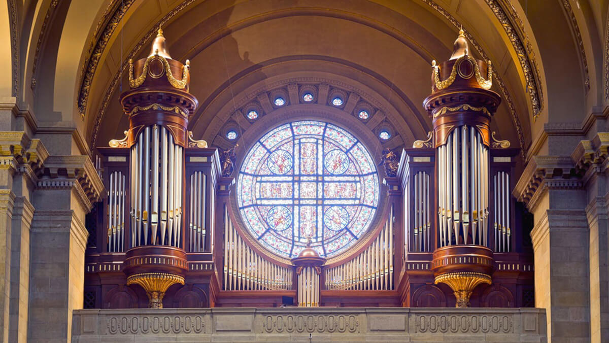 Organ case for the Cathedral of St. Paul, Minnesota