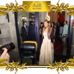Anna Dello Russo in a headpiece hand-carved by Agrell Architectural Carving