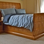 Rateau-inspired bed