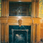 Reproduction of Utah Governor's Mansion fire surround