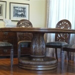 Rateau-inspired dining room set