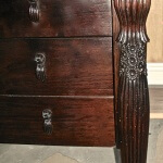 Detail of Rateau-inspired sideboard