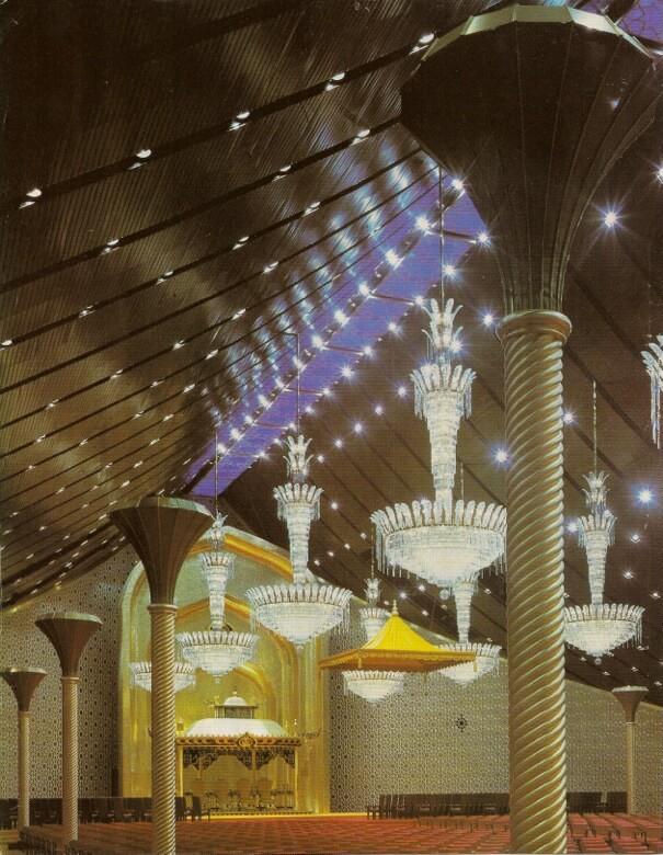 The Sultan of Brunei's Istana Nurul Iman palace