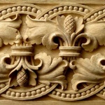 Baroque-style band woodcarving by Agrell Architectural Carving
