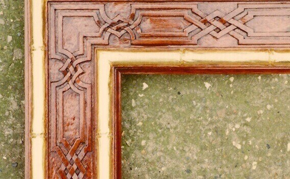 Hand-carved, painted, and gilded by Agrell Architectural Carving for the Sultan of Brunei.