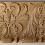 Neoclassical-style wood moulding hand-carved by Agrell Architectural Carving