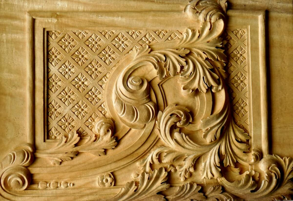 Elaborate baroque style of ornamentation 100 images for Difference between baroque and rococo