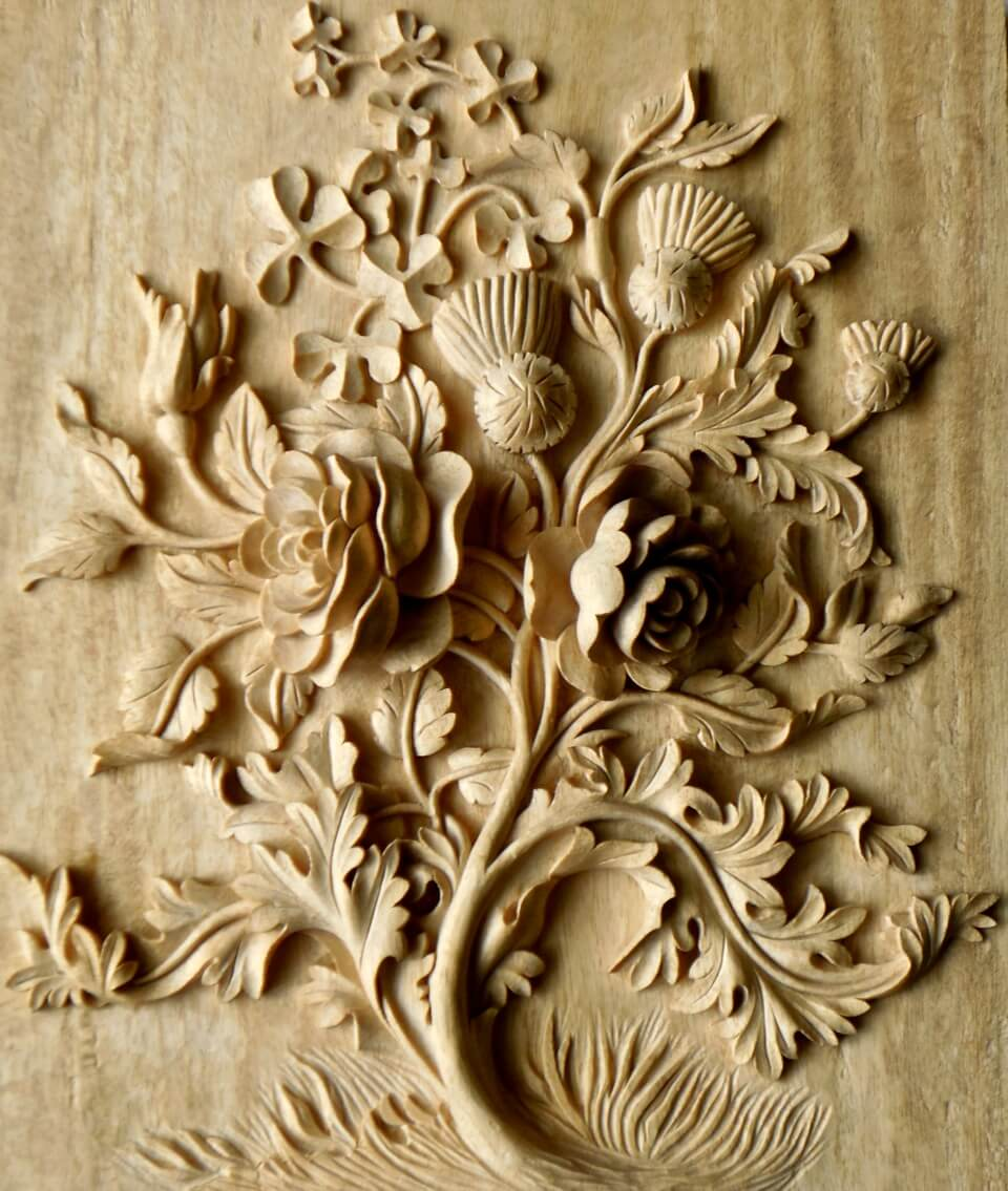 agrell architectural carving � battle of the roses