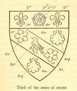 The arms of the Petre family