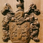 The arms of a private client in the U.K.
