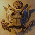 The arms of the United States