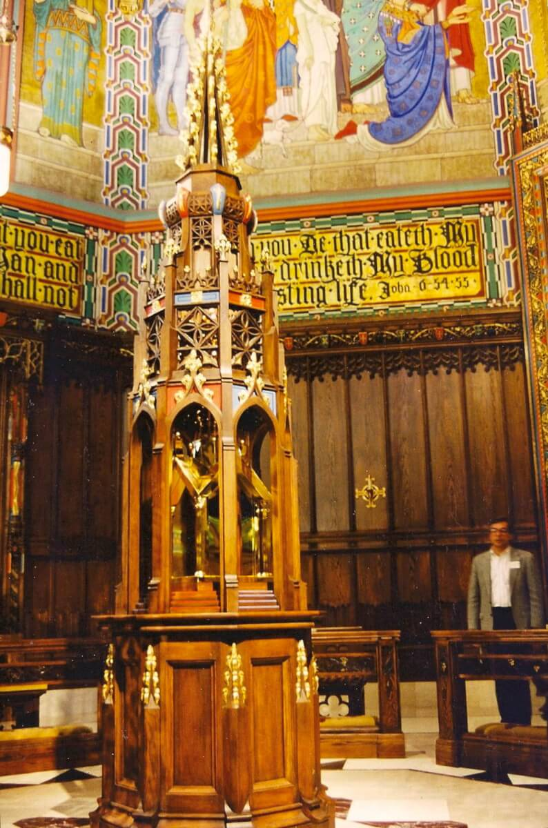Tabernacle for the Cathedral of the Madeleine