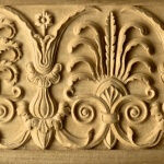 Roman-style woodcarving by Agrell Architectural Carving