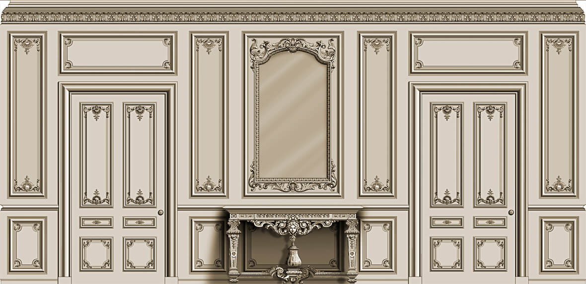 Front Elevation Molding : Agrell architectural carving showcase of work